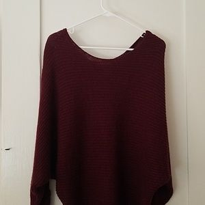 Burgandy Sweater